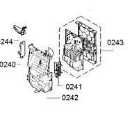 Силовой модуль для стиральной машины Bosch 11017470
