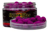Бойлы Starbaits Fluorolite Pop Ups Purple 10mm 60g