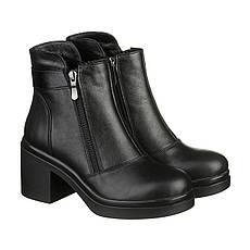 VM-Villomi Удобные зимние ботинки с двумя змейками на каблуке