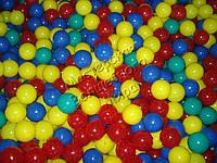 Шарики для сухих бассейнов 7см разноцветные