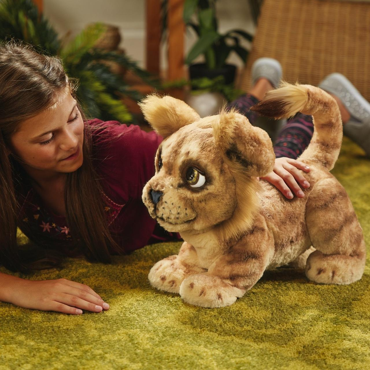 Русскоязычный Симба Король Лев (FurReal Friends Hasbro Disney The Lion King Mighty Roar Simba)