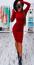 Модное платье (цвет - изумруд, ткань - ангора) Размер S, M, L (розница и опт)