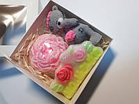 Подарочный набор натурального мыла ручной работы для мамы