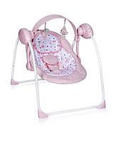Качели электрические Portofino pink Lorelli