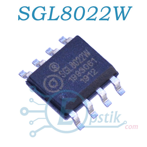 SGL8022W, сенсорний світлодіодний ШІМ, SOP8