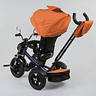 ⏩ Велосипед детский трехколесный Best Trike 4490-2903 оранжевый, фото 3