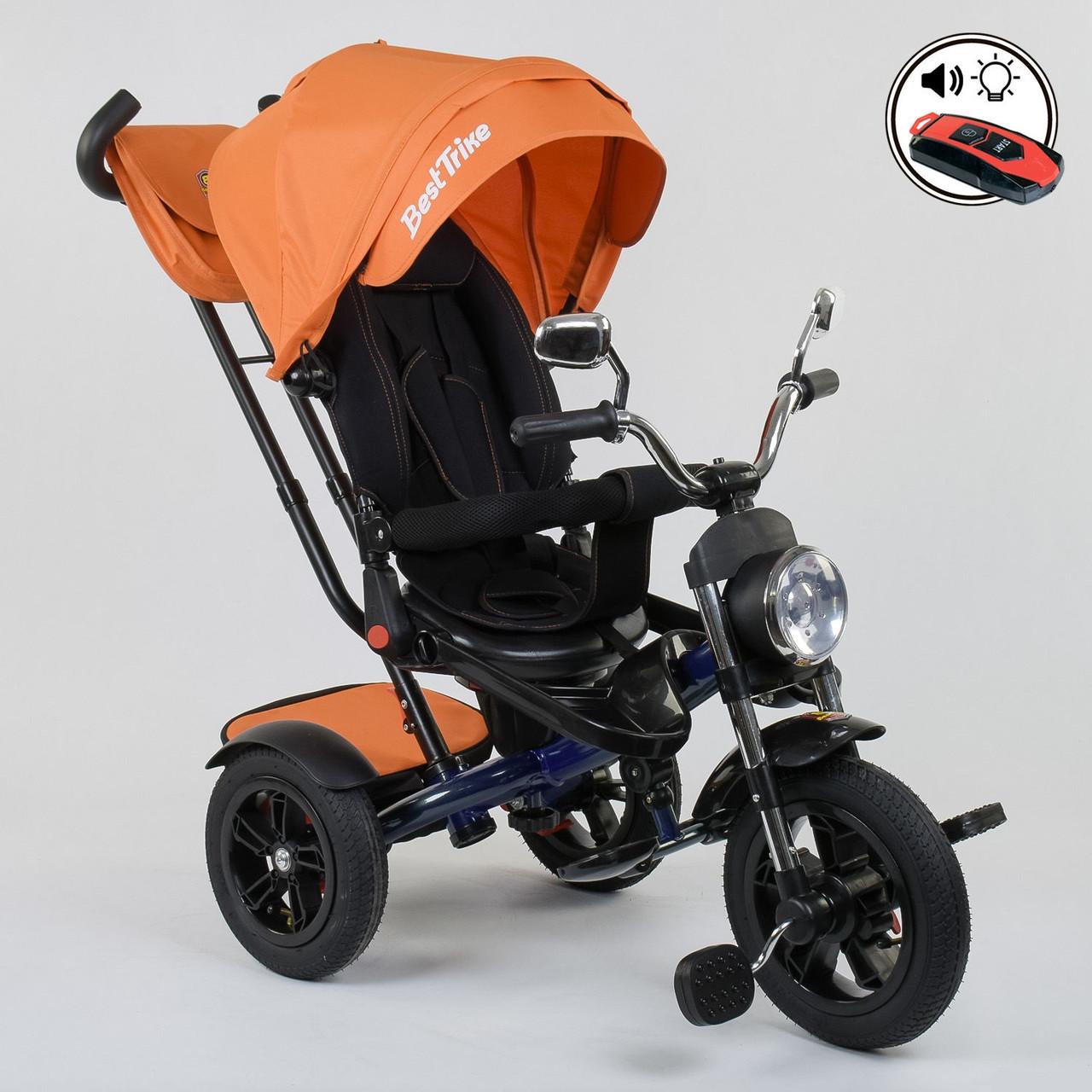 ⏩ Велосипед детский трехколесный Best Trike 4490-2903 оранжевый
