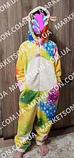 Кигуруми піжама Єдиноріг в зірочки р. XS-L, фото 2