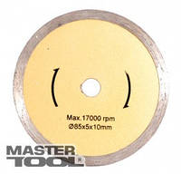 MasterTool  Диск алмазный для  плитки 85*10 мм, Арт.: ДП 85x10
