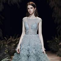 Вечірня сукня Вечерние Выпускное платье пышное А силует ручной работы.
