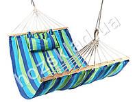 Гамак тканевой с подушкой (WSI65013-7) (цвета ассорти)