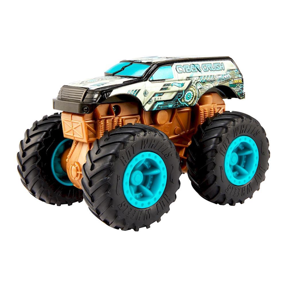 Машинка Мощный удар Hot Wheels серии Monster Trucks, в ассортименте, Mattel GCF94