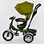 ⏩ Велосипед детский трехколесный Best Trike 5890-3297 хаки, фото 2