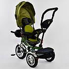 ⏩ Велосипед детский трехколесный Best Trike 5890-3297 хаки, фото 3