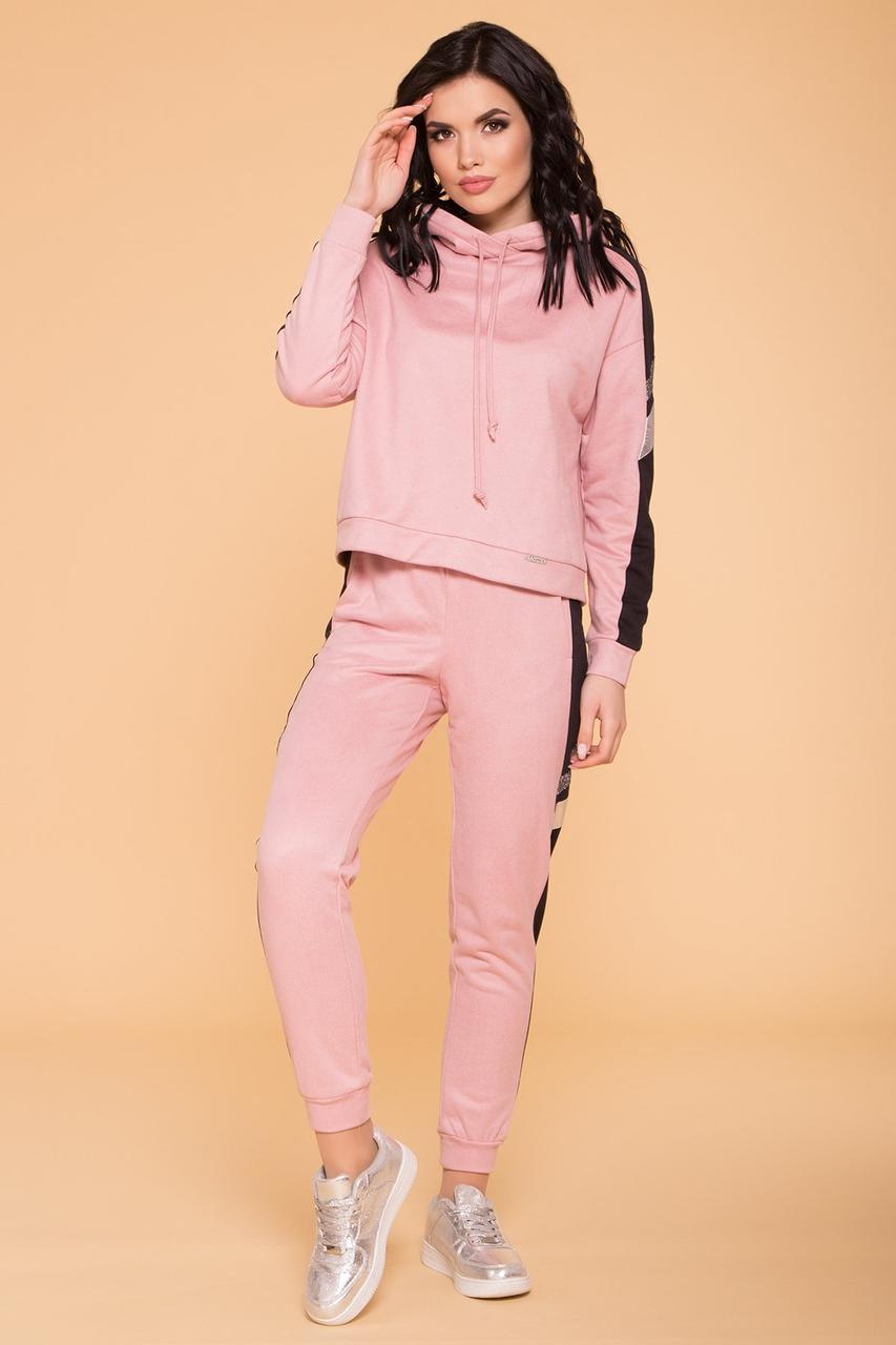 Прогулочный костюм розовый