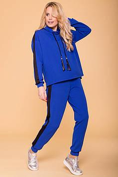 Прогулочный женский костюм синий