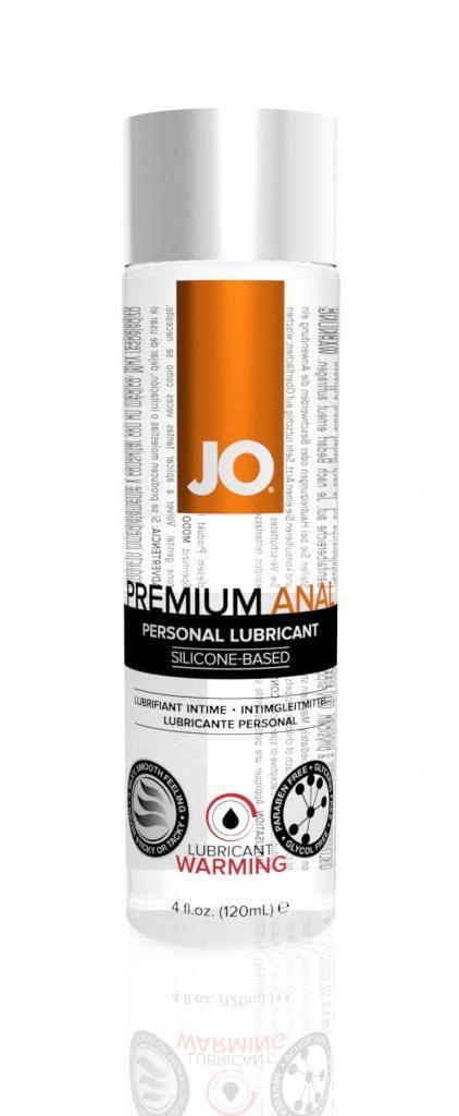 Лубрикант на силиконовой основе System JO ANAL PREMIUM — WARMING  (120/60 МЛ)