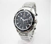 Часы Omega Seamaster Professional Chronograph 007 43mm Silver/Black. Реплика: AAA.