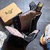 Женские ботинки  Dr Martens Jadone Glitter Black / ботинки женские Др Мартенс - Фото