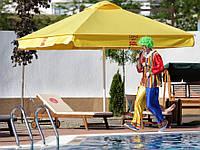 Зонт для летних кафе 3х3м + бетонная подставка, труба 60мм, ткань оксфорд 230г/м2