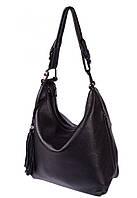Женская сумка из натуральной кожи 1871 черный.Кожаные женские сумки оптом в Украине., фото 1