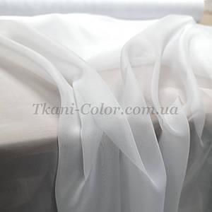 Ткань шифон для штор белый