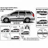 Молдинги на двери для Dacia Renault Logan MCV II 2012-2020, фото 2
