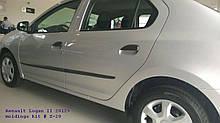 Молдинги на двери для Renault Dacia Logan II / Logan MCV II 2012-2020