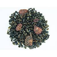 Чай зеленый ароматизированный Teahouse Земляника со сливками (зеленый) 250 г