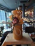 Свічки воскові з натурального бджолиного воску, фото 2