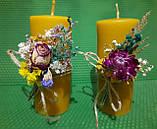 Свічки воскові з натурального бджолиного воску, фото 5