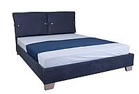 Кровать с мягким изголовьем Мишель MELBI 140х200