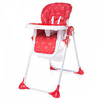 Детский стульчик для кормления 4Baby Decco Red