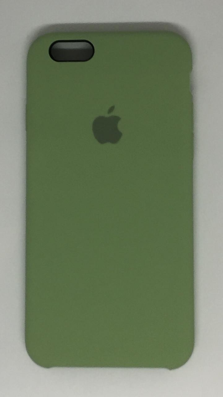 """Чехол Silicon iPhone 6 - """"Фисташка №1"""""""