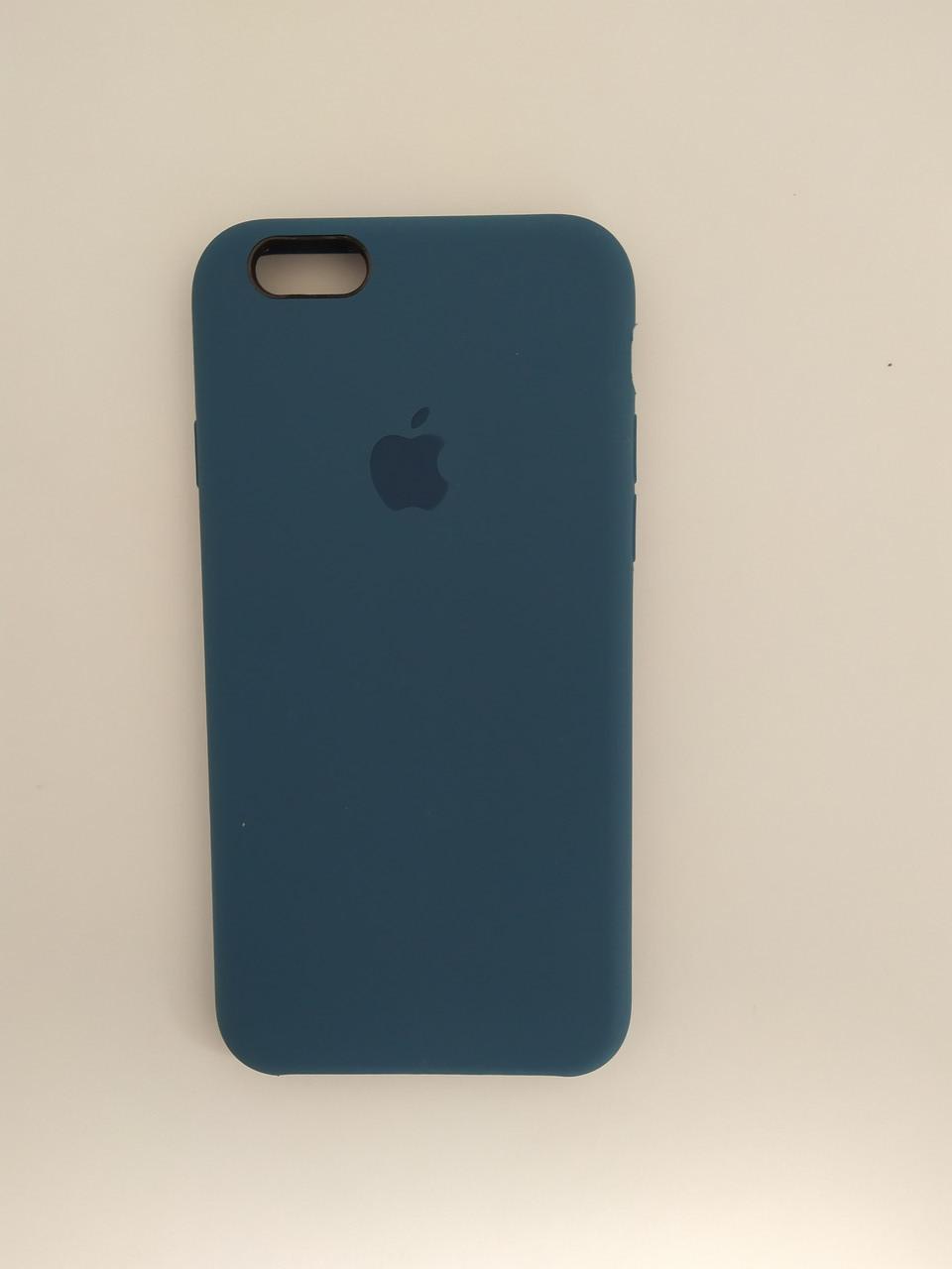 "Чехол Silicon iPhone 6 - ""Синий кобальт №20"""