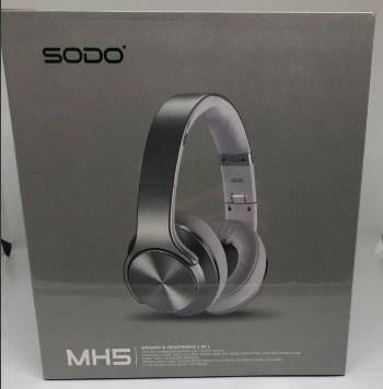 Наушники Bluetooth SODO MH5 с динамиком, фото 2