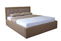 Кровать с мягким изголовьем и подъемным механизмом Флоренс MELBI 140х200