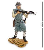 Статуэтка, миниатюра Оловянный Воин Крестоносец Veronese WS-995