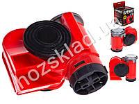 Сигнал возд CA-10355/Еlephant/Compact/12V/красный/color box
