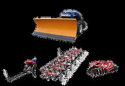 Навісне обладнання для міні-тракторів