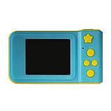 Детский цифровой фотоаппарат синий Smart Kids Camera Blue, фото 4