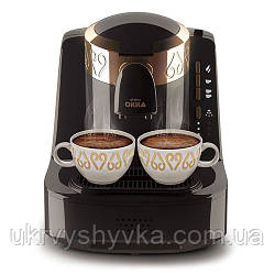 Кавоварка для кави по-турецьки Arzum Okka (чорна, золото)