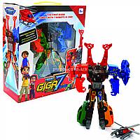 Игровой набор трансформеры роботы тоботы «Tobot Giga» 7в1 (528)