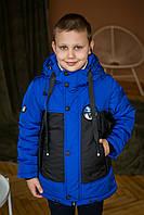 """Демисезонная курточка-жилетка для мальчика """"Наушники"""", весенняя куртка для мальчика"""