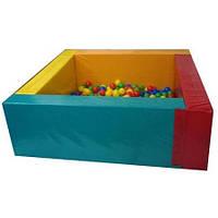Сухой бассейн Квадрат детский 2м