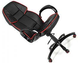 Офисное кожаное кресло Racer Lucaro , фото 3