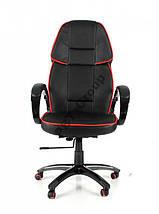Офисное кожаное кресло Racer Lucaro , фото 2