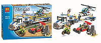 Конструктор Bela 10422 City Сити Перевозчик вертолёта, аналог Lego City 60049, 410 деталей