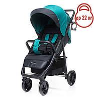 Детская прогулочная коляска 4Baby Moody 2020 бирюзовая