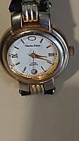 Стильные женские кварцевые наручные часы  Charles Delon. Модель 1573.